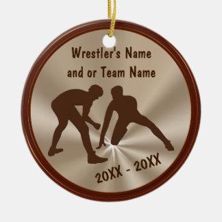 Personalisierte Wrestling-Verzierungen und Keramik Ornament