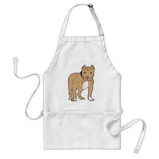 Personalisierter Amerikaner Pitbull Hund Schürze