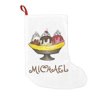 Personalisierter Banana- Kleiner Weihnachtsstrumpf