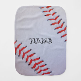 Personalisierter Baseball Burpstoff Spucktuch
