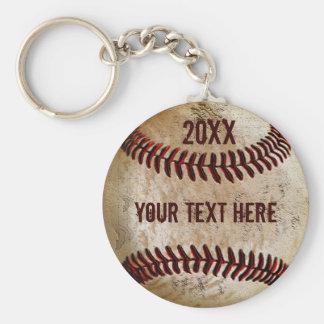 Personalisierter Baseball Keychains für TEAM oder Schlüsselanhänger