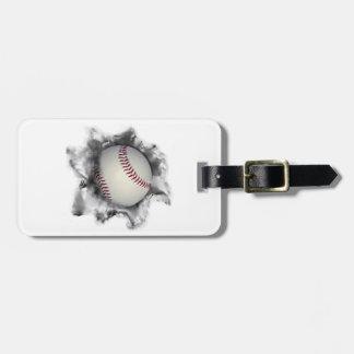 personalisierter Baseball Kofferanhänger