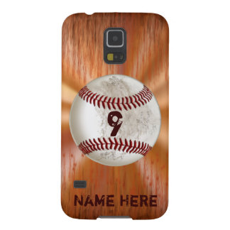 Personalisierter Baseball Samsungs-Galaxie-S5 Galaxy S5 Cover