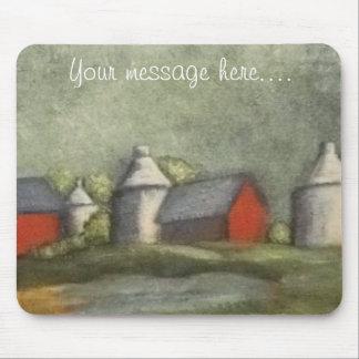 Personalisierter Bauernhof-ursprüngliche Kunst Mousepads