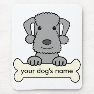 Personalisierter Bedlington Terrier Mousepad
