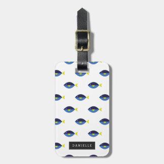 Personalisierter | blauer Geruch Adress Schild