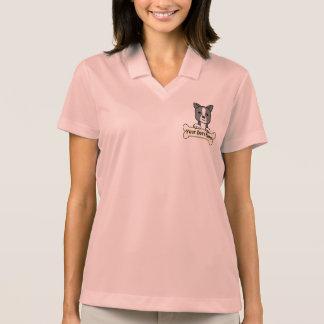Personalisierter Boston-Terrier Polo Shirt