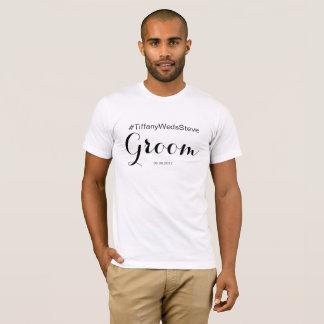 Personalisierter Bräutigam-T - Shirt vom BrautSet