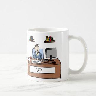 Personalisierter Cartoonbecher VP Kaffeetasse