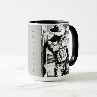 """Personalisierter """"cooler Cowboy, der"""" Tasse"""