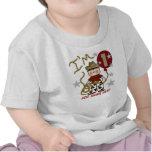 Personalisierter Cowboy-1. Geburtstags-T-Shirt