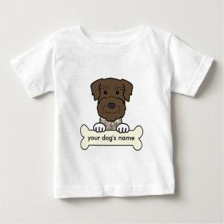 Personalisierter deutscher Drahthaar-Zeiger Baby T-shirt