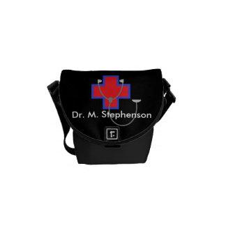Personalisierter Doktor Bag Mini Messenger Bag Kuriertaschen