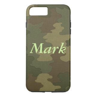 Personalisierter dunkler Tarnung iPhone 7 Kasten iPhone 8 Plus/7 Plus Hülle