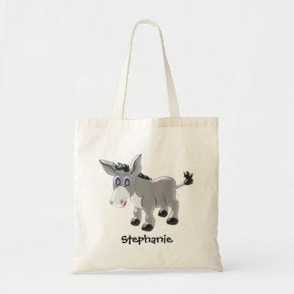 Personalisierter Esel-Entwurf Tragetasche