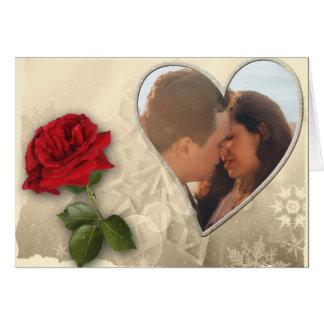Personalisierter Foto-Valentinstag Karte