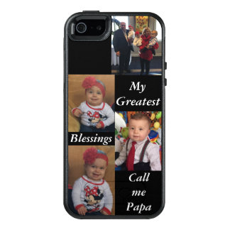 Personalisierter Fototelefonkasten OtterBox iPhone 5/5s/SE Hülle