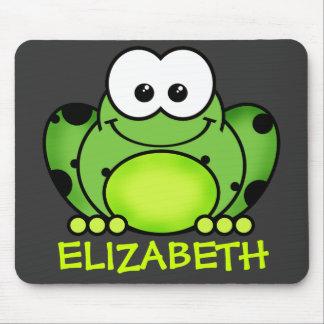 Personalisierter Frosch Mousepad