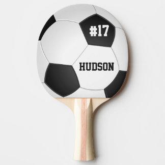 Personalisierter Fußball-Ball Tischtennis Schläger
