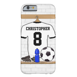 Personalisierter Fußball Jersey Barely There iPhone 6 Hülle