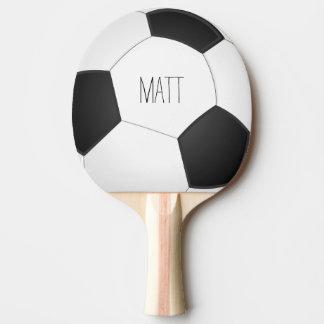 Personalisierter Fußball Tischtennis Schläger