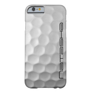 Personalisierter Golf-Ball bildet Barely There iPhone 6 Hülle
