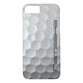 Personalisierter Golf-Ball bildet iPhone 7 Hülle