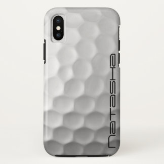 Personalisierter Golf-Ball iPhone X Fall iPhone X Hülle