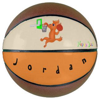 Personalisierter Größe-Basketball-glücklicher Basketball