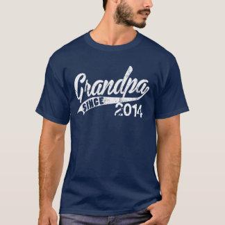 Personalisierter Großvater seit Jahr T-Shirt