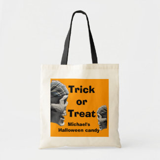 Personalisierter Halloweentrick-oder Tragetasche