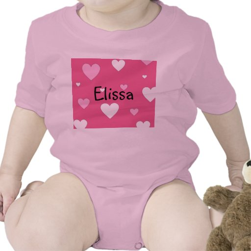 Personalisierter Herz-Säuglings-Strampler