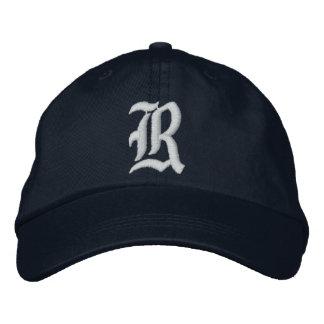 """Personalisierter justierbarer Hut """"R"""""""