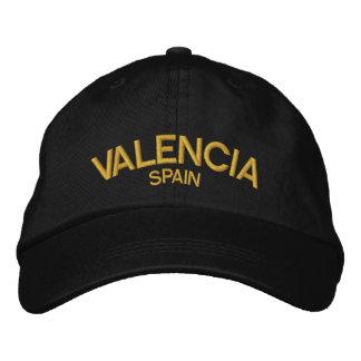 Personalisierter justierbarer Hut Valencias Besticktes Cap