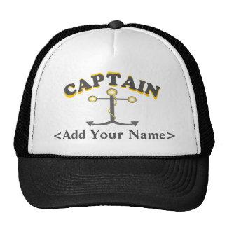 Personalisierter Kapitän Hat Kultkappe