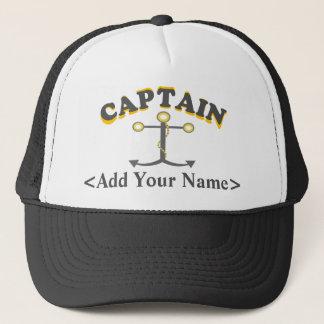 Personalisierter Kapitän Hat Truckerkappe