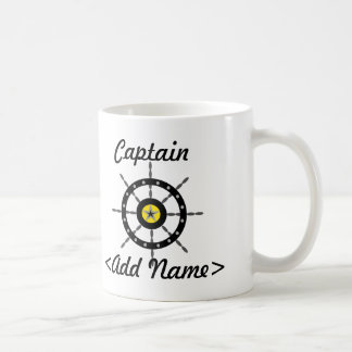 Personalisierter Kapitän Mug Haferl