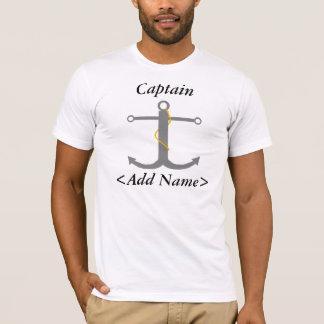 Personalisierter Kapitän T-Shirt