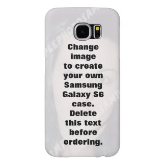 Personalisierter Kasten Foto Samsungs-Galaxie-S6