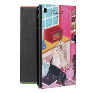 Personalisierter Labradors Küchen-Party ipad Fall iPad Mini Etuis