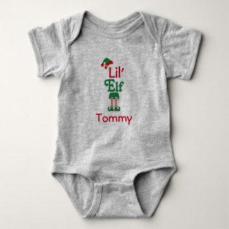 Personalisierter Lil Elf Baby Strampler