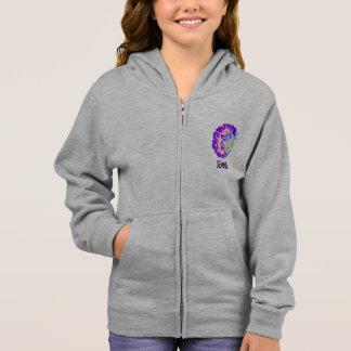 Personalisierter Mädchen-GymnastikHoodie mit Hoodie