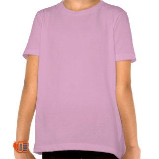 Personalisierter Mädchen-und Katzen-Paris-T - Tshirts