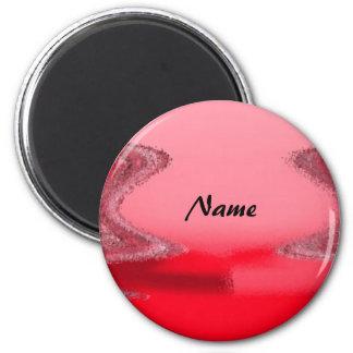 Personalisierter Magnet Runder Magnet 5,7 Cm