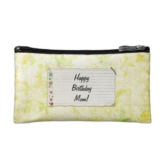Personalisierter Mammageburtstag Blumen-Aufkleber