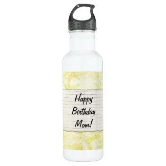 Personalisierter Mammageburtstag Blumen-Aufkleber Trinkflaschen