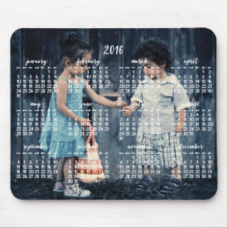 Personalisierter Mausunterlage-Kalender 2016 Mauspad