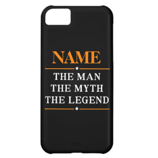 Personalisierter Name der Mann der Mythos die iPhone 5C Hülle