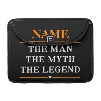 Personalisierter Name der Mann der Mythos die Sleeve Für MacBook Pro
