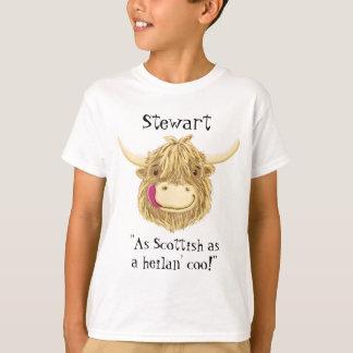 Personalisierter Name so schottisch wie eine T-Shirt